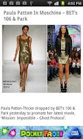 Screenshot of Mobo Fashion Trends & Deals