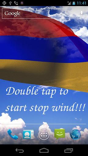 3D Armenia Flag LWP +