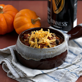 Pumpkin Chili with Guinness