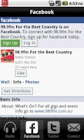 Screenshot of 98.9fm For The Best Country