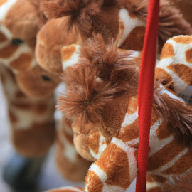 giraffe dolls by Eric Rainbeau - Artistic Objects Toys