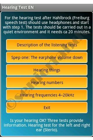Hearing Test EN