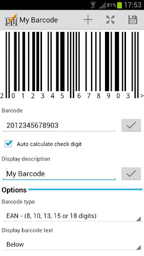 Barcode Architect