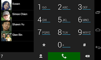 Screenshot of ExDialer SimpBlack Theme