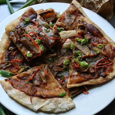 Thai Chicken Flatbread