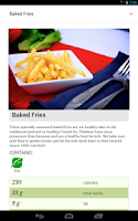 Screenshot of School Lunch by Nutrislice