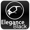 Black Elegance Theme GO SMS