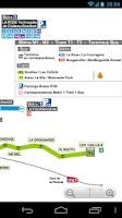 Screenshot of Marseille Metro and Tram Map