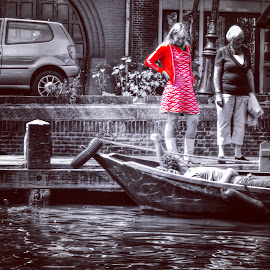 by Julie Dabour - City,  Street & Park  Street Scenes