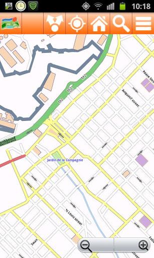 Mauritius Offline mappa Map