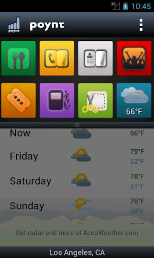 poynt for android screenshot