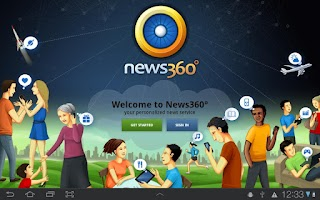 Screenshot of News360 (Old)