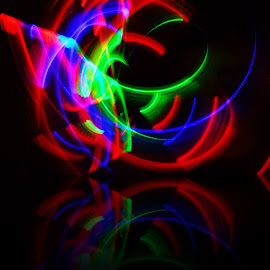 the RGB by Yohanis Kurniawandy - Abstract Light Painting