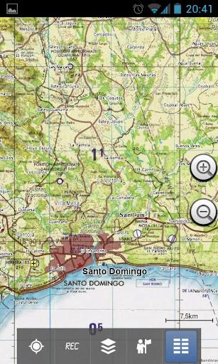 Hispaniola Topo Maps Pro