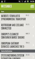 Screenshot of E-services