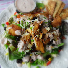 Chicken Taco Salad (low fat)