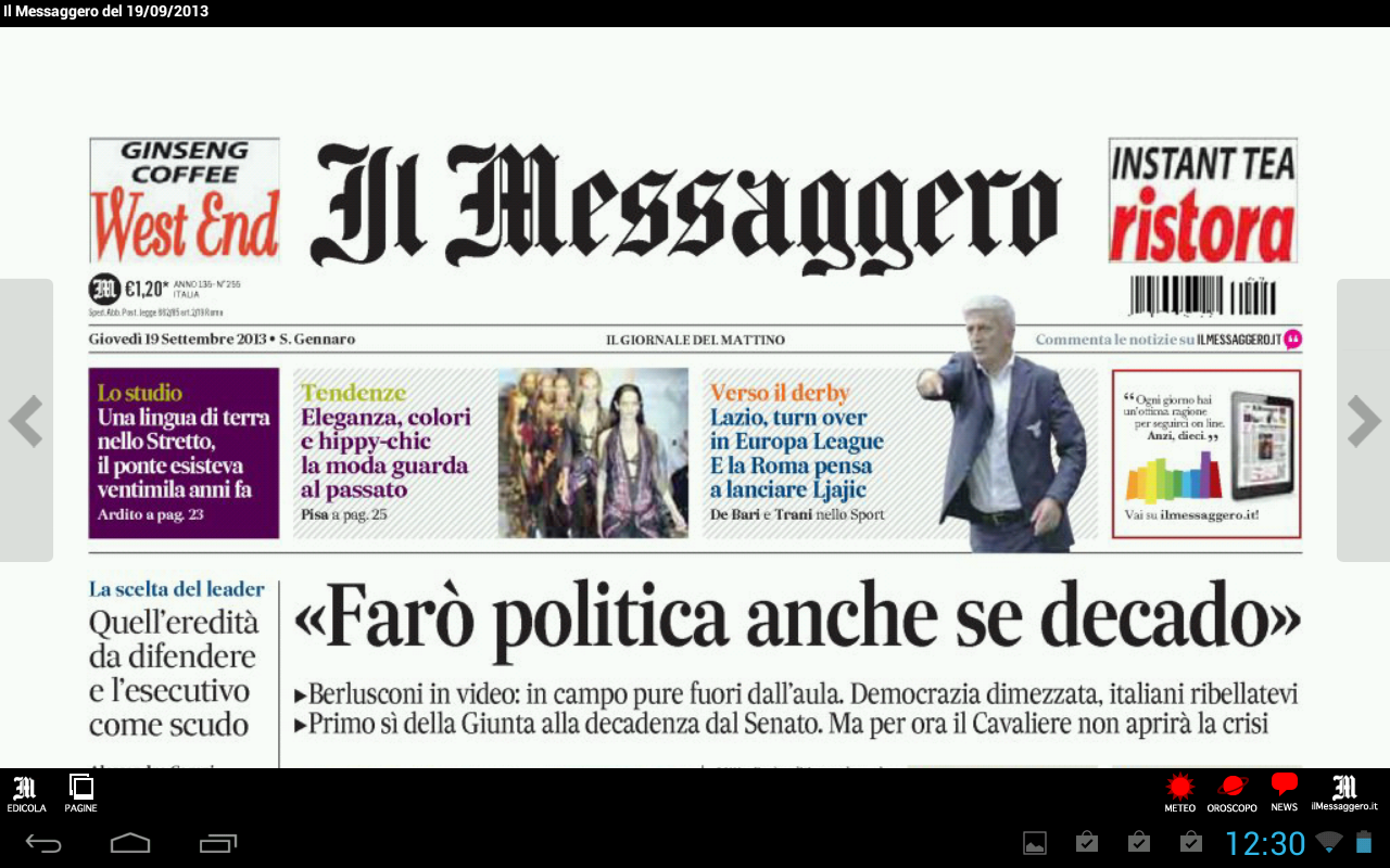 Il Messaggero Digital Screenshot 3