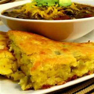 Corn Casserole Green Chilis Sour Cream Cheddar Cheese Recipes | Yummly