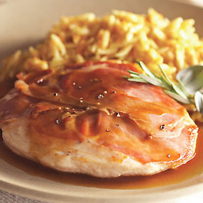 Chicken Saltimbocca with Lemon Sauce