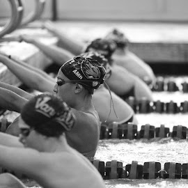 Anticipation by Justin Quinn - Sports & Fitness Swimming