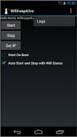 Screenshot of WIFI KeepAlive
