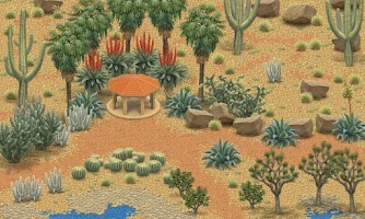 Screenshot of Inner Garden: Desert Garden