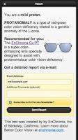 Screenshot of Color Blindness Test