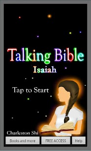 Talking Bible, Isaiah - screenshot