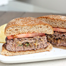 Stuffed Cheddar Bacon Cheeseburgers