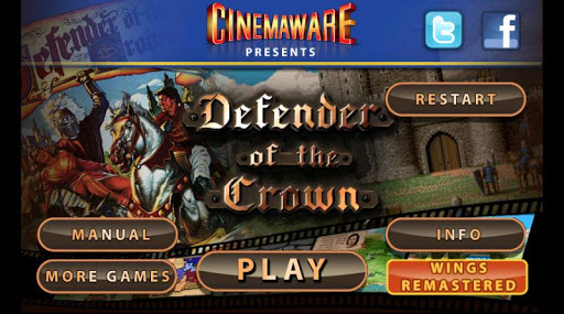 Defender of the Crown - screenshot