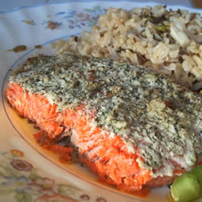Garlic and Dill Salmon