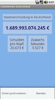 Screenshot of Germany´s National Debt Clock