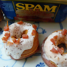 Mini Maple Spam Doughnuts