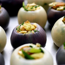 Kale-Stuffed Onions