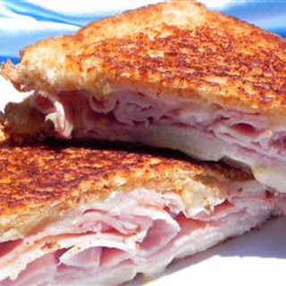 Christy's Awesome Hot Ham and Cheese