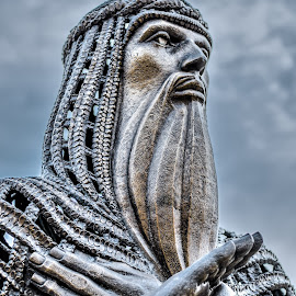 Moses  by Adam Johnson - Buildings & Architecture Statues & Monuments