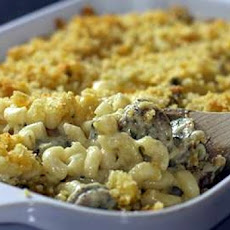 Sausage and 3-Cheese Mac and Cheese