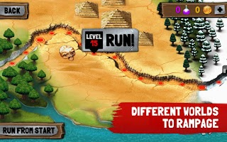 Screenshot of Jungle Rampage