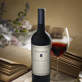 Pey Marin 'Textbook' Cabernet by David Bishop - Food & Drink Alcohol & Drinks ( wine, warm, stilllife, evening, golden hour )