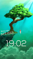 Screenshot of Sparky Lock Screen Lite