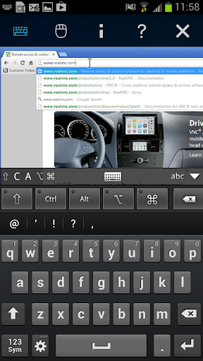 Screenshot #11 of VNC Viewer / Android