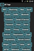 Screenshot of PenTest Tools List