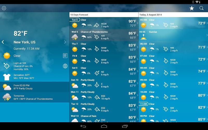 Weather XL PRO Screenshot 8