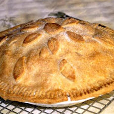 Autumn Harvest Apple Pie (Vegan )