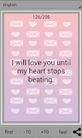 Screenshot of Love SMS & Love Letters