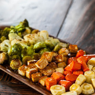 Roasted Tofu and Vegetables
