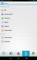 Screenshot of AirGet for TOSHIBA