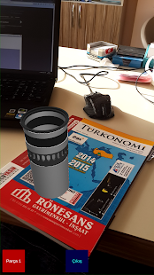 Yenmak Augmented Reality Demo - screenshot