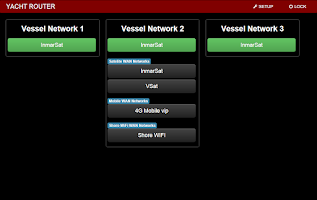 Screenshot of Yacht Router