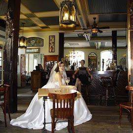 by Stewart Curry - Wedding Bride